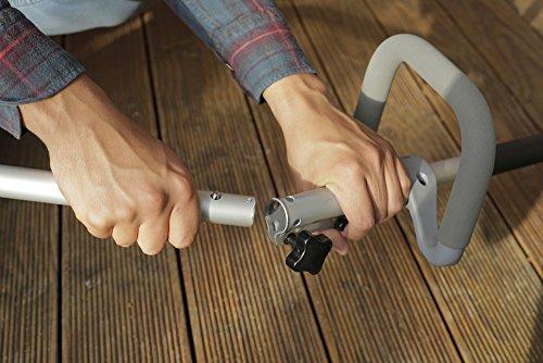 IKRA débroussailleuse thermique IBT 25-1, bobine & sangle incluse, largeur de coupe 430mm