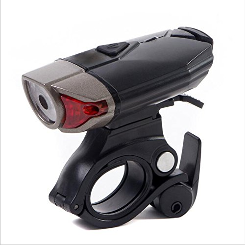 Find Bargain USB Rechargeable Bike Light Front Outdoor Bicycle Light 1200Mah/500 Lumens LED Cycle He...