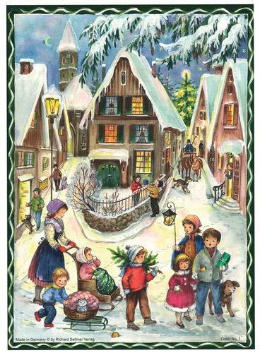 Sellmer Chocolade adventskalender Kerstmis