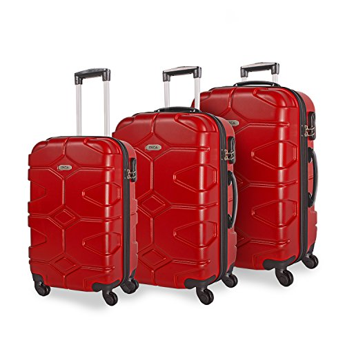 ITACA , Set di valigie Rosso rosso