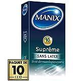 Préservatifs MANIX SUPREME 100% sans latex - paquet de 10