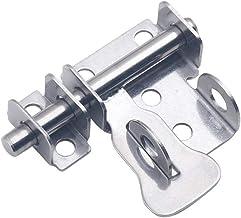 Inlay deur plug, gratis punch, roestvrij staal, veiligheidsdeurgesp, hangslot, 2 inch-6 inch + slot