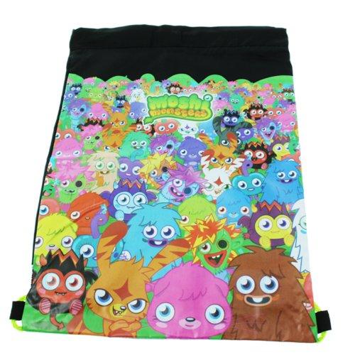 Moshi Monsters Pompe à l'école Kit de pe et sac (Noir) neuf
