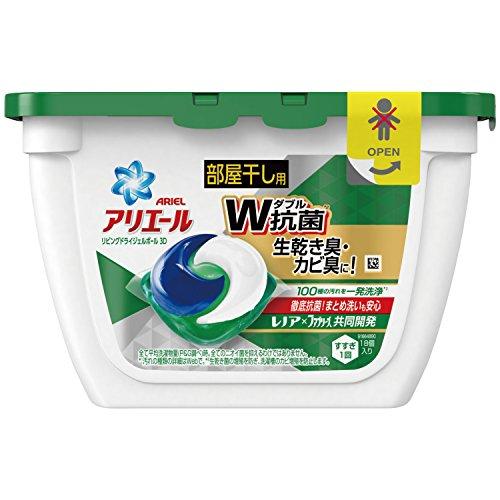 アリエール洗濯洗剤リビングドライジェルボール3D本体18個入