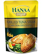 Hanaa Tuna Steak Grilled with Olive Oil and Lemon, 120 g - Pack of 1