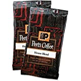Peet's Coffee House Blend Fresh Roasted Coffee, 2.5 Ounce (Pack of 18)