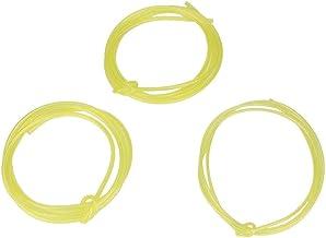 1,5 meter 2 mm 2,5 mm 3 mm gul bränsleleda slangrör passar för poulan hantverkare Husqvarna Weedeater motorsågar trimmers ...