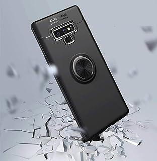 حافظه كفر لهواتف سامسوج نوت 9 مع مسكة خاتم و مغناطيس لحامل السيارة و واقي للصدمات