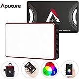 Aputure AL-MC LED撮影用ライト RGBライト ビデオライト 3200-5600K色温度調整 無段階調光 軽量 小型 撮影照明 光補充 充電式 APP制御 磁気付き 自撮り 動画撮影 YouTube生放送