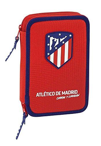 Safta Estuche Atlético De Madrid 'Coraje' Oficial 34 Útiles Incluidos 135x45x205mm