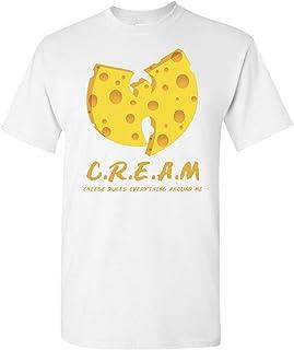 T Shirt Jerks - C.R.E.A.M. Cream Cheese Rules Everything Around Me Wu-Tang Parody Shirt 36 Chambers Graphic T Shirt