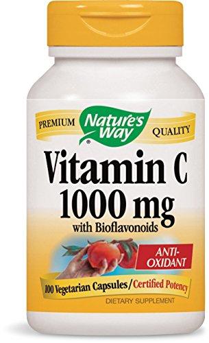 Vitamin C 1000 mg with Bioflavonoids; 1000 mg Vitamin C per serving; 100 Vegetarian Capsules