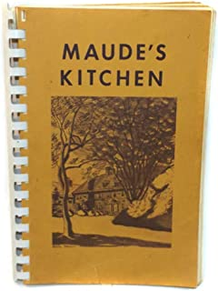 Maude's Kitchen Vintage Cookbook from Moravian Seminary for Girls - Bethlehem, PA