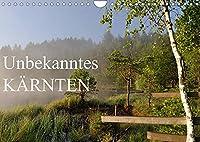 Unbekanntes KaerntenAT-Version (Wandkalender 2022 DIN A4 quer): Das schoenste Bundesland Oesterreichs in 12 eindrucksvollen Aufnahmen (Monatskalender, 14 Seiten )