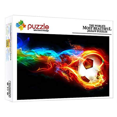 GFSJJ 1000 Piezas Puzzle 1000 Piezas Fútbol Blaze Puzle para Niño Infantiles Adolescentes Adultos Juegos Educativos Entretenimiento (52 X 38 Cm)