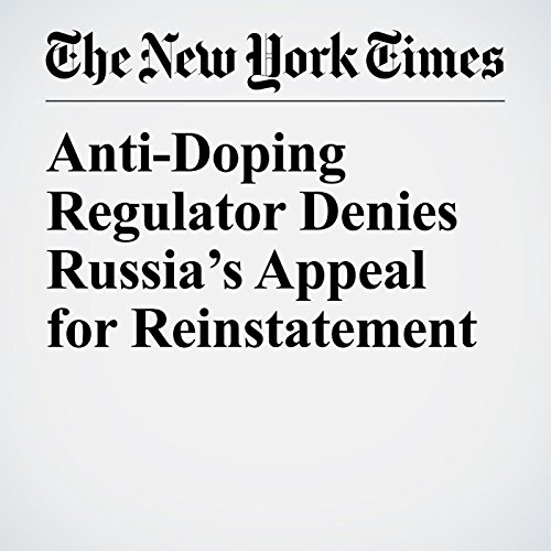 Anti-Doping Regulator Denies Russia's Appeal for Reinstatement copertina