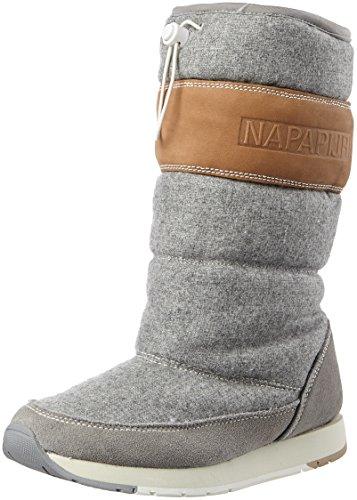 Napapijri Footwear Damen Rabina Schneestiefel, Grau (Iron Grey), 38 EU