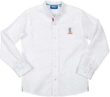 Ubs2 Camisa Blanca Lino Niño 2-6 Años (6 años): Amazon.es: Ropa