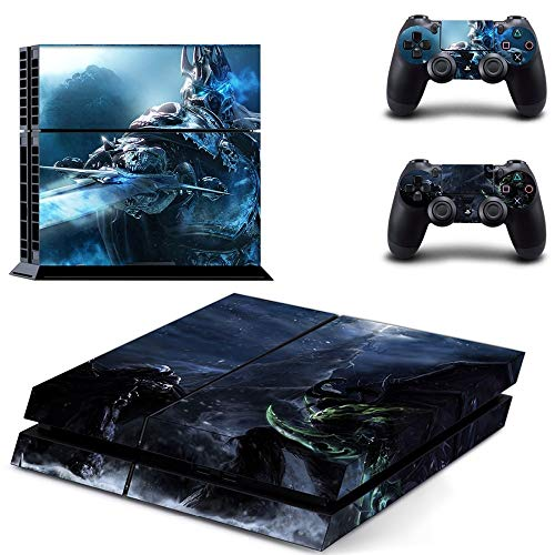 XIANYING Ps4 Skin Sticker Decals Ps4 Sticker Vinyl Accessories For Playstation 4 Console And 2 Controller Skins