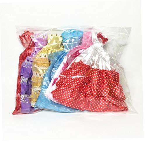5 PCS Hecho a Mano de la Novedad Banquete de Boda de los Vestidos de los Vestidos de Ropa para la muñeca (Color al Azar/Estilo)
