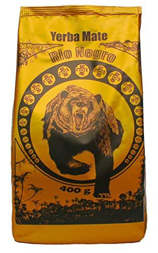 Mate Tee aus Argentinien I Rio Negro I Lose Matetee-Blätter I Starke I Reine Blätter Yerba Mate 400 g