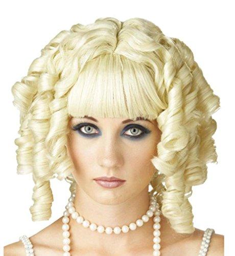 blonds perruque de poupée fantômes