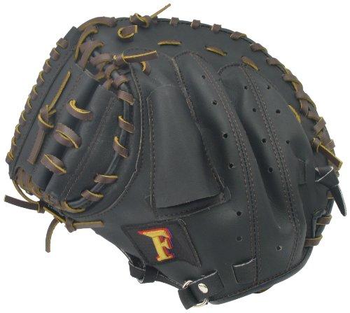 サクライ貿易(SAKURAI) Promark(プロマーク) 野球 少年軟式用 グラブ(グローブ) 左利き用 キャッチャーミット CM-4045 J号球対応 ブラック