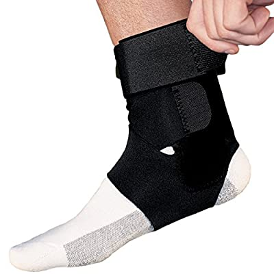ACE Brand Sport Deluxe Ankle Stabilizer, America's Most Trusted Brand of Braces and Supports, Satisfaction Guarantee