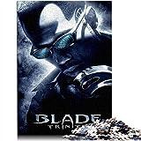 YITUOMO Rompecabezas difícil de 1000 piezas para adultos, adolescentes Blade Warrior: Trinity póster de película Classic Puzzle lleno de desafío y cumplimiento, gran opción de regalo 38 x 26 cm
