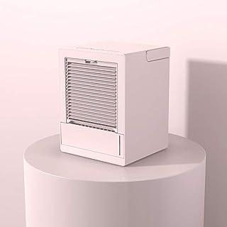JCJ-Shop Mini Aire Acondicionado Polar Fresh, Ventilador De Enfriamiento De Escritorio De 3 Velocidades, Mini Refrigerador De Aire Acondicionado con Luces Led De Colores, para Oficina, Hogar