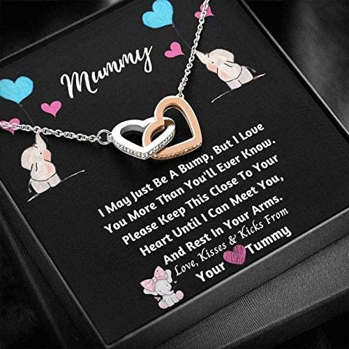 To My Mummy From Unborn Baby I May Bump Be 奉呈 A Gift New Mom 信用 Just