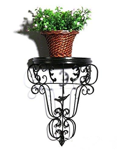Blumenständer Plante Théâtre Fer Mur de Fer à Repasser einzelne Pot Racks européenne décoration Murale Fleurs Paniers Jardinier Idéal Cadeau 1