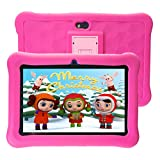 Tablet para Niños 7 Pulgadas WiFi 2GB de RAM 32GB ROM Tablet Infantil Android 6.0 Quad Core HD 1280x800 Doble Cámara y Google Play de Juegos Educativos.