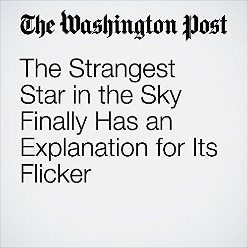 The Strangest Star in the Sky Finally Has an Explanation for Its Flicker copertina