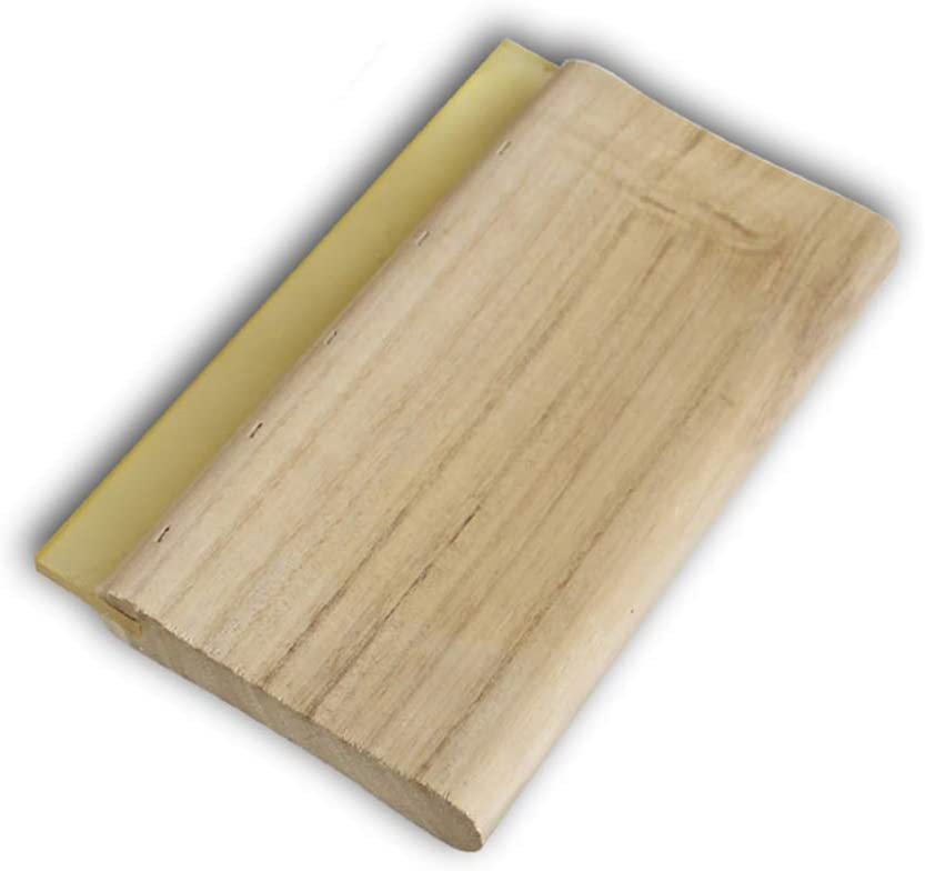 Special price for a limited time Silk Stencil Screen Printing Squeegee Ink Wood Limited time sale 6 Scraper
