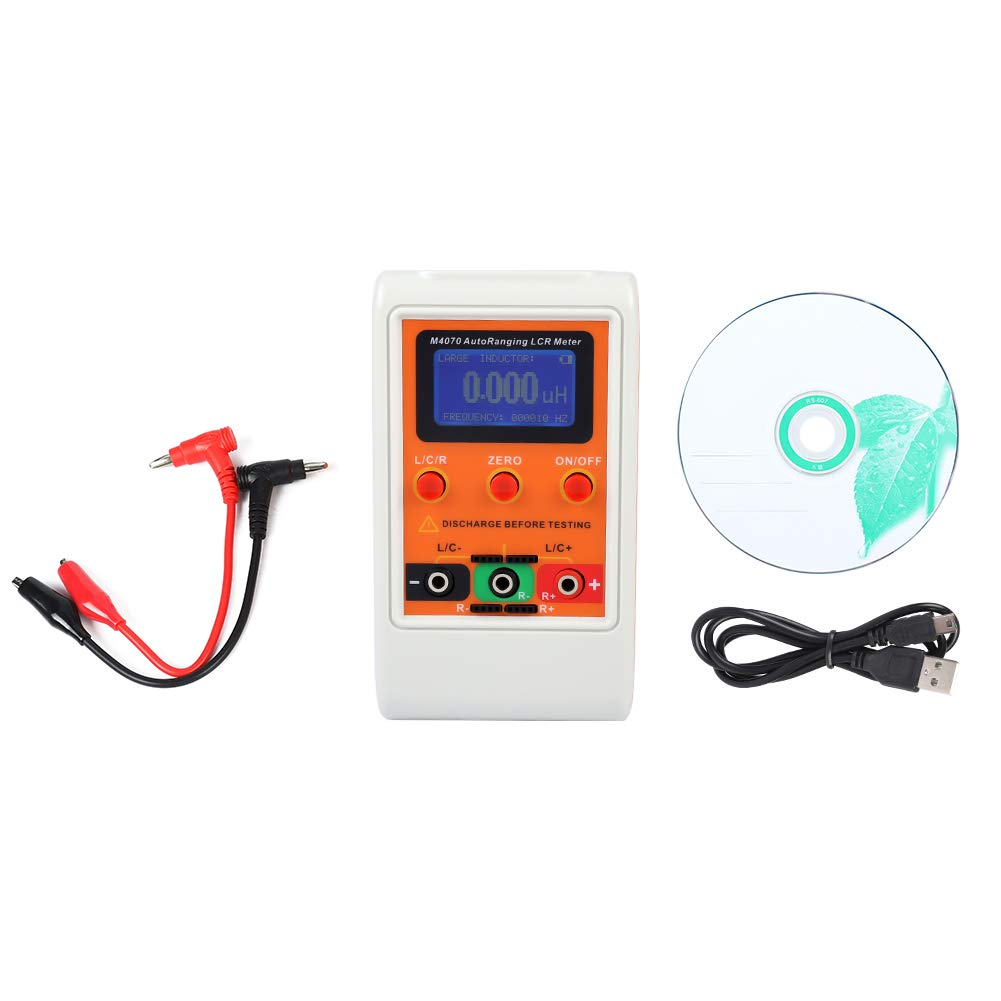 Digital Battery Panel Auto Ranking TOP9 Outlet ☆ Free Shipping Range Inductance Meter Circuit Tes in