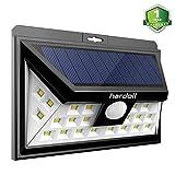 Hardoll 24 Led Solar Lights Wide Angle Outdoor Motion Sensor With 3 Leds