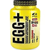4 + Sport Nutrition Egg + 1000 g 1 kg 1 pack de albúmina de proteína hasta 75% pura proteína sin azúcar