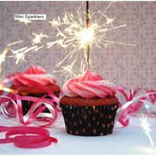 Birthday Cake Sparklers Amazoncouk
