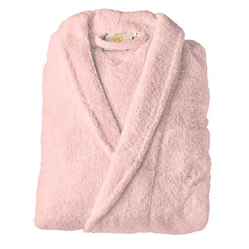 Superior Women's Bath Robe, Pink, Large