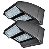 LED Wall Pack 120W Rotatable Adjustable 16000LM 5000K Wall Pack led Light UL DLC Listed