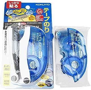 コクヨ テープのり ドットライナーホールド タ-DM4200-08N 詰め替付セット