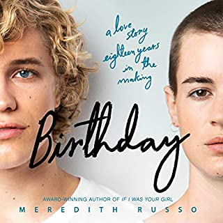 Birthday audiobook cover art