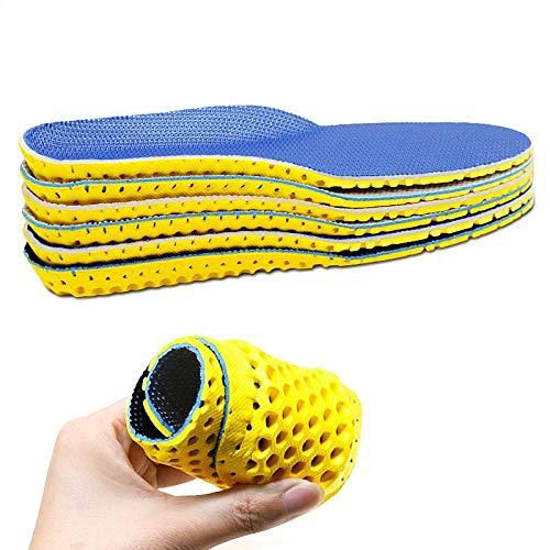 Insole Orthopädische Einlegesohlen 1 Paar Schuhe Einlegesohlen Sohle Orthopädischer Memory Foam Sport Arch Support Soft Pad Insert Frau Männer Für Füße Laufen Sneaker 44 Norma