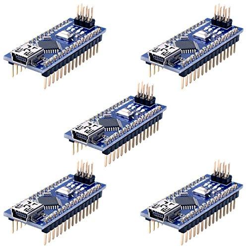 Longruner with ArduinoIDE Nano V3.0 ATmega328P 5V 16M Micro Controller Board Module LKY64-5