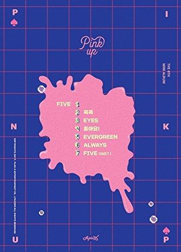 PlanA APINK - rosa (6 º Mini álbum) B ver. Álbum de fotos