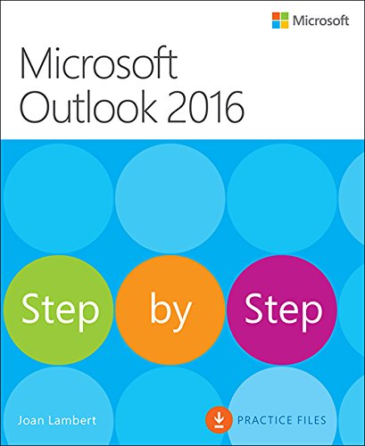 Microsoft Outlook 2016 Step by Step (English Edition)