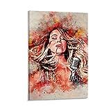 Poster mit Mariah Carey-Motiv, dekoratives Gemälde,
