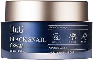 [Sale+Gift] Dr.G Black Snail Cream 50ml / Brightening & Nourishing Cream