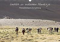Ladakh im indischen Himalaja - Nomadenland Changthang - Bergweh ® (Wandkalender 2022 DIN A3 quer): Dieses Grenzgebiet zu den Nomadenstaemmen ist schwer zugaenglich und fordert einem, nicht nur wegen der Hoehe, viel ab. Einmalige Eindruecke, stille Wildheit und unendliche Weite werden hier erlebbar. (Monatskalender, 14 Seiten )
